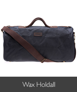 Barbour Wax Holdall for AW15