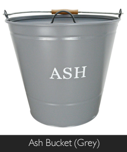 Manor Ash Bucket in Grey available from Philip Morris and Son