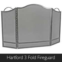 Manor Hartford 3 Fold Fireguard available from Philip Morris and Son