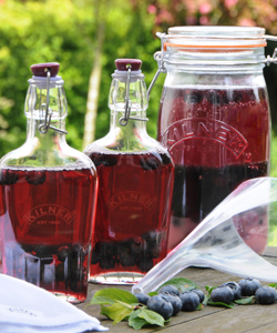 Kilner Sloe Gin Bottles at Philip Morris and Son