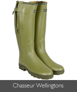 Le Chameau Chasseur Wellingtons available at Philip Morris and Son