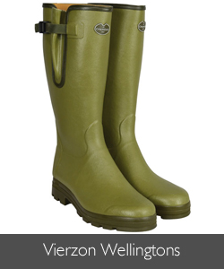 Le Chameau Leather Lined Vierzon Wellingtons available at Philip Morris and Son