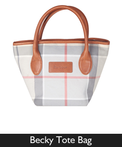 Ladies Barbour Becky Tote Bag