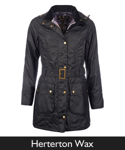 Barbour Herterton Waxed Jacket