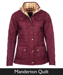 Ladies Barbour Manderton Quilt