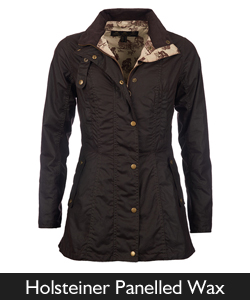 Barbour Panelled Holsteiner Waxed Jacket