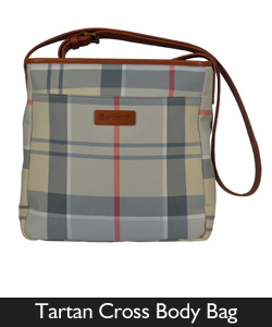 Barbour Tartan Cross Body Bag