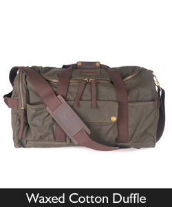 Barbour Waxed Cotton Duffle