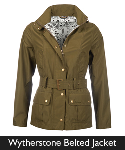 Barbour Wytherstone Belted Jacket