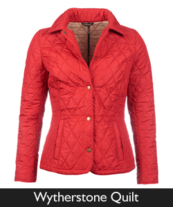 Ladies Barbour Wytherstone Quilt
