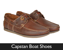 Barbour Capstan Boat Shoes from Philip Morris and Son