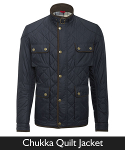 Barbour Chukka Quilt Jacket from Philip Morris and Son