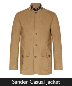 Barbour Sander Casual Jacket from Philip Morris and Son