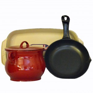 Cast iron range