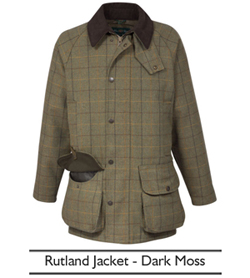 Alan Paine Rutland Jacket - Dark Moss | Philip Morris and Son