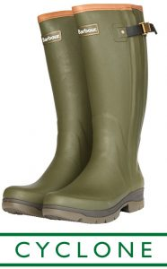 Barbour Cyclone Wellingtons