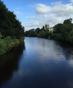 The autumnal River Wye