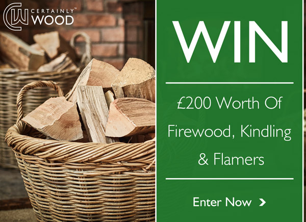 Competition: WIN £200 of Firewood, Kindling & Flamers!