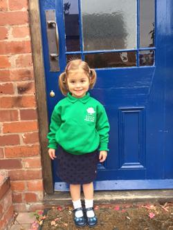 Willow starting Kindergarten